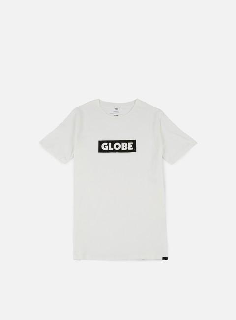 t shirt globe box t shirt blanc