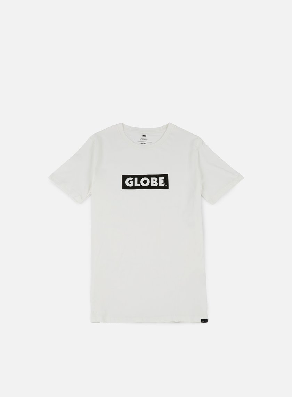 Globe - Box T-shirt, Blanc