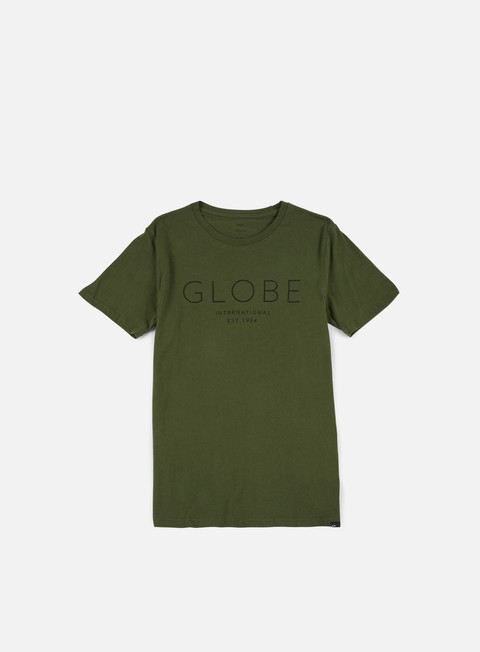 t shirt globe company t shirt hunter green