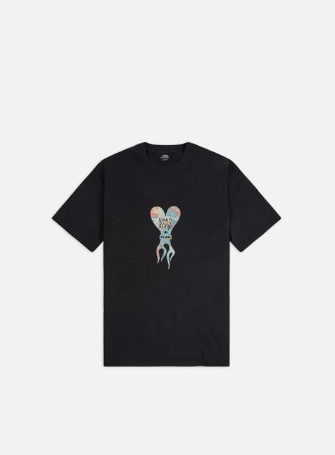 T-shirt a Manica Corta Globe Dead Kooks Flame Heart T-shirt