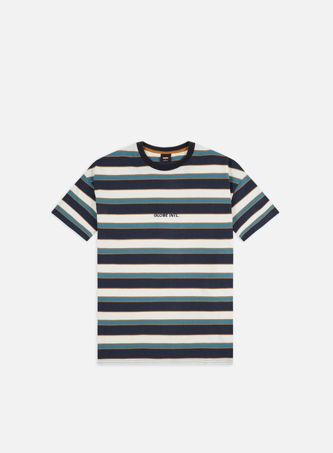 Outlet e Saldi T-shirt a Manica Corta Globe Montage Stripe T-shirt