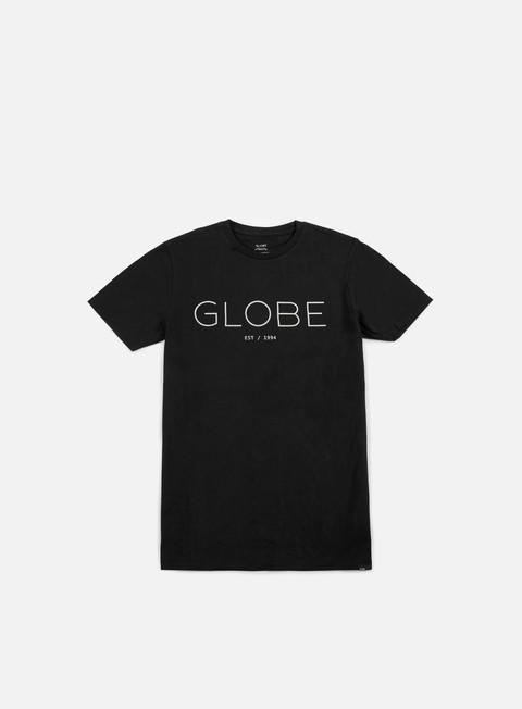 t shirt globe phase t shirt black white