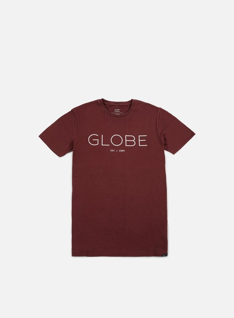 t shirt globe phase t shirt deep red