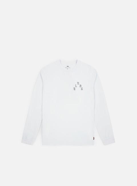 t shirt globe phrophet ls t shirt white
