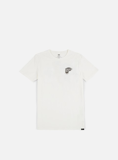 t shirt globe spray classic t shirt blanc