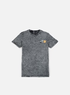 Globe - This World T-shirt, Acid Slate Grey 1