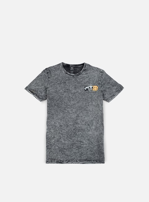 t shirt globe this world t shirt acid slate grey