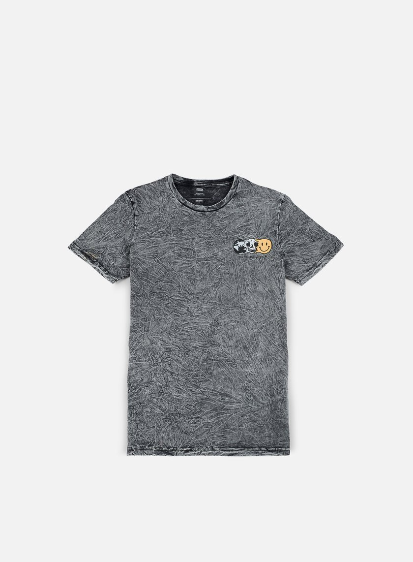 Globe - This World T-shirt, Acid Slate Grey