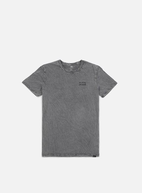 t shirt globe twisted t shirt acid grey