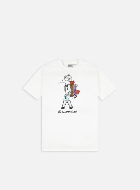 Short sleeve T-shirts Gramicci Jonas Claesson Back Pack T-shirt