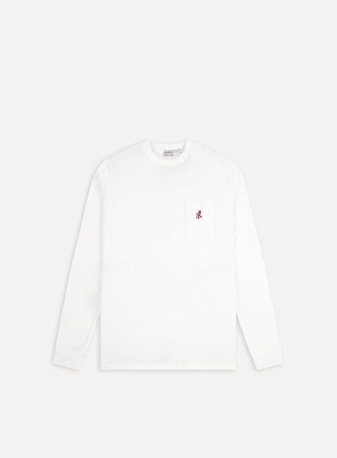 Long sleeve T-shirts Gramicci One Point LS Pocket T-shirt
