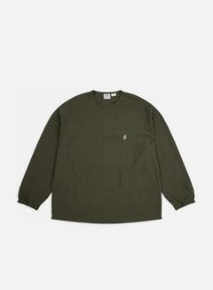 Gramicci - Shell LS T-shirt, Deep Olive