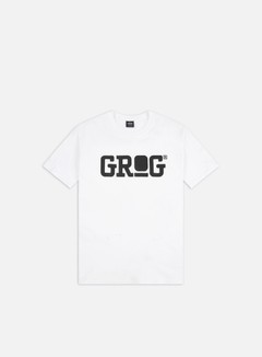 Grog - Classic Logo T-shirt, White 1