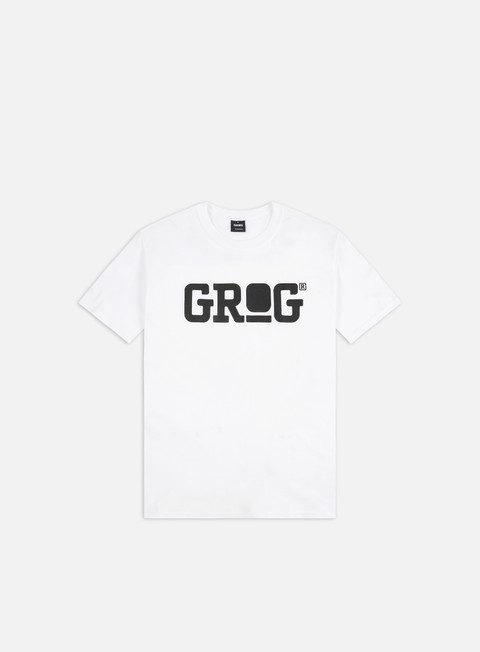 t shirt grog classic logo t shirt white