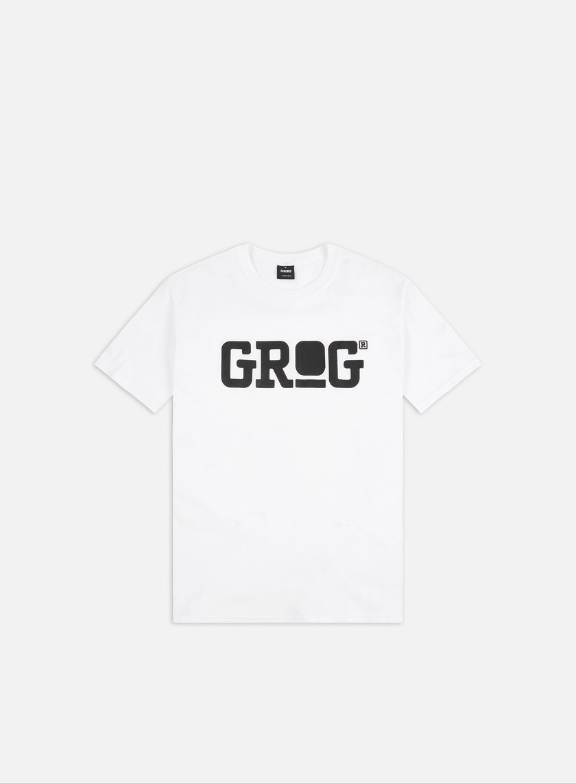 Grog - Classic Logo T-shirt, White