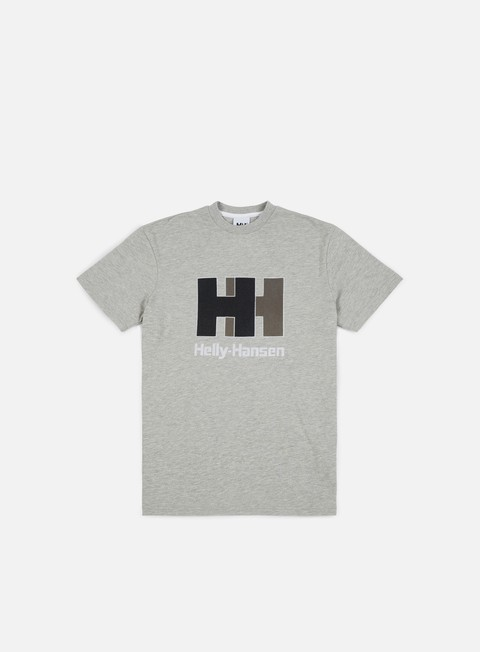 Sale Outlet Short Sleeve T-shirts Helly Hansen HH Chenille Logo T-Shirt