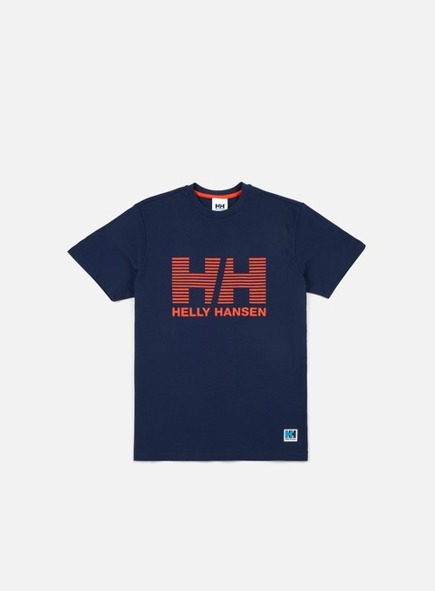 t shirt helly hansen hh crew t shirt evening blue