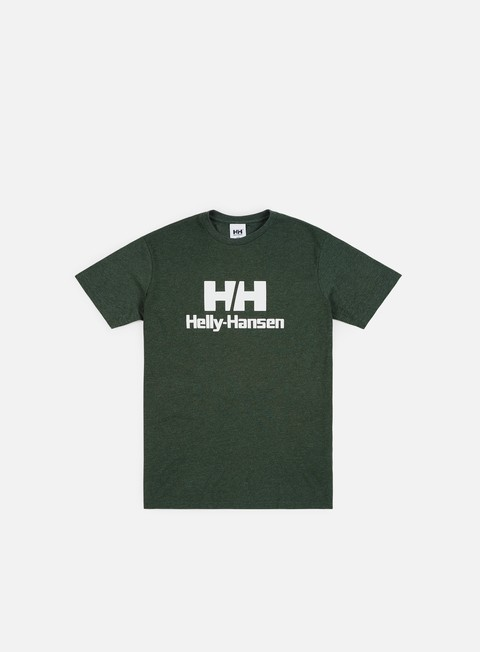t shirt helly hansen hh rubber logo t shirt mountain green