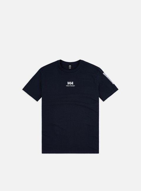 Short Sleeve T-shirts Helly Hansen YU Twin Logo T-shirt