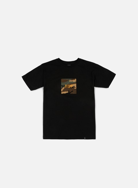 t shirt huf ambush camo box logo t shirt black