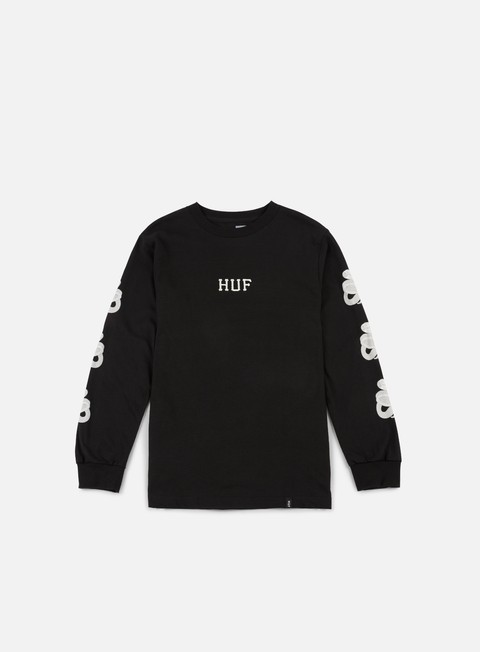 t shirt huf ambush ls t shirt black