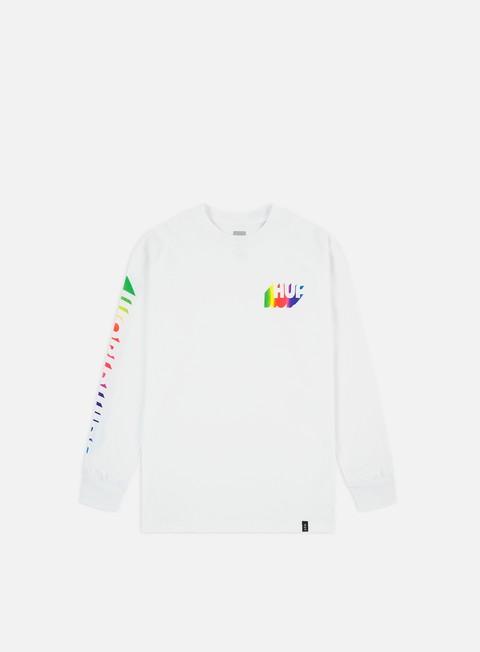 Outlet e Saldi T-shirt a Manica Lunga Huf Aura LS T-shirt