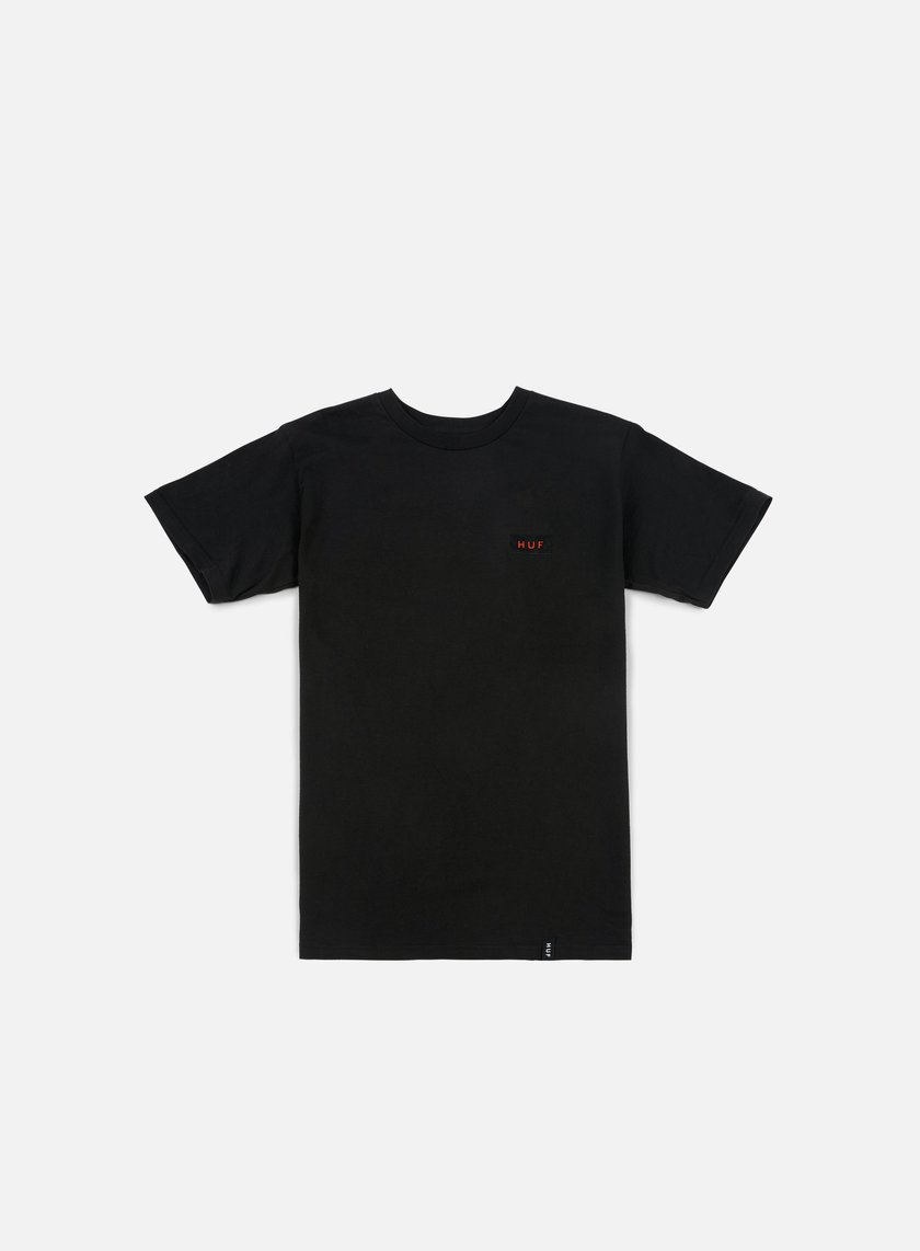 Huf Bar Logo Flock T-shirt