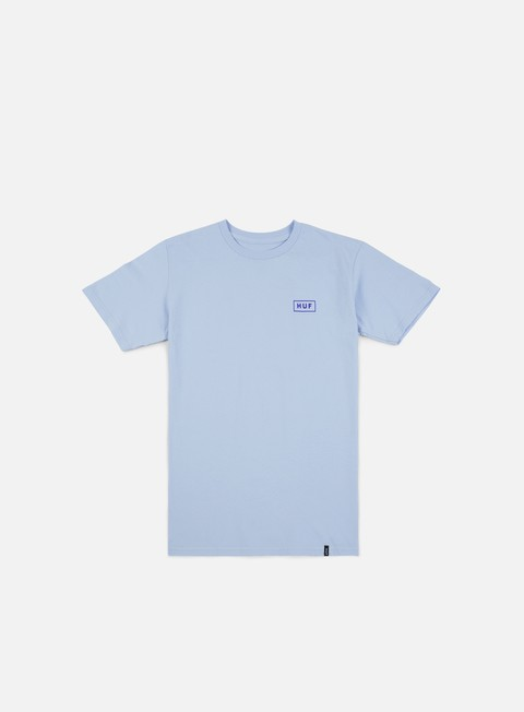 t shirt huf bar logo t shirt light blue