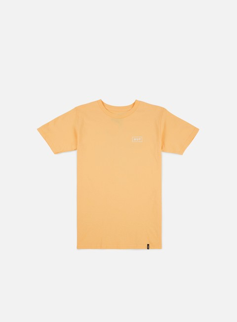 t shirt huf bar logo t shirt peach