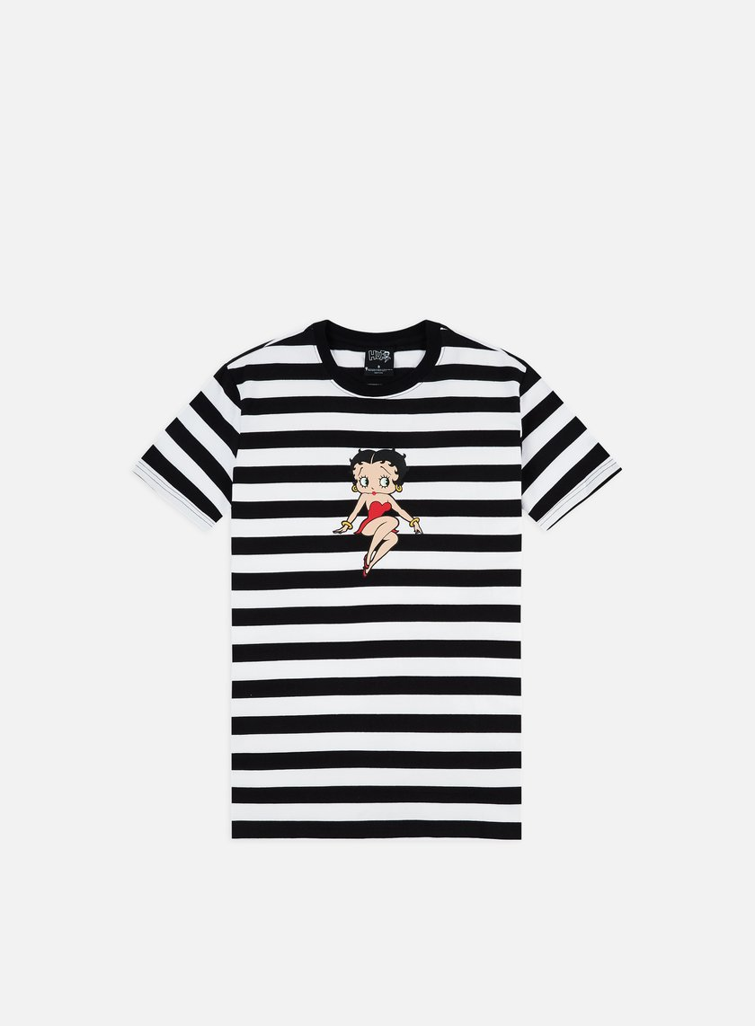 Huf Betty Boop Stripe Knit Top T-shirt
