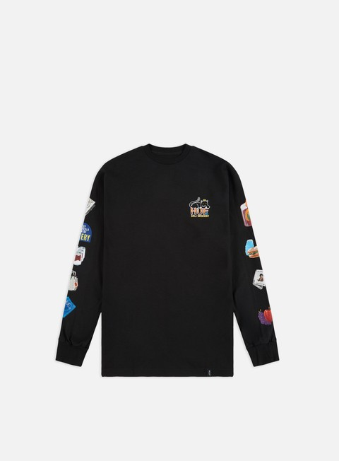 Outlet e Saldi T-shirt a Manica Lunga Huf Bodega LS T-shirt
