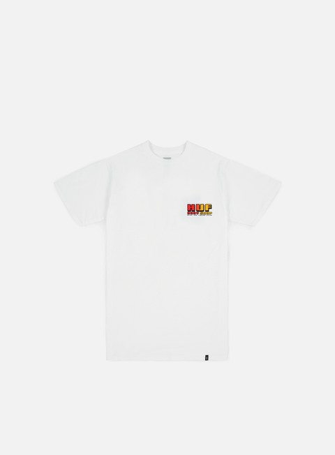 t shirt huf body shop t shirt white