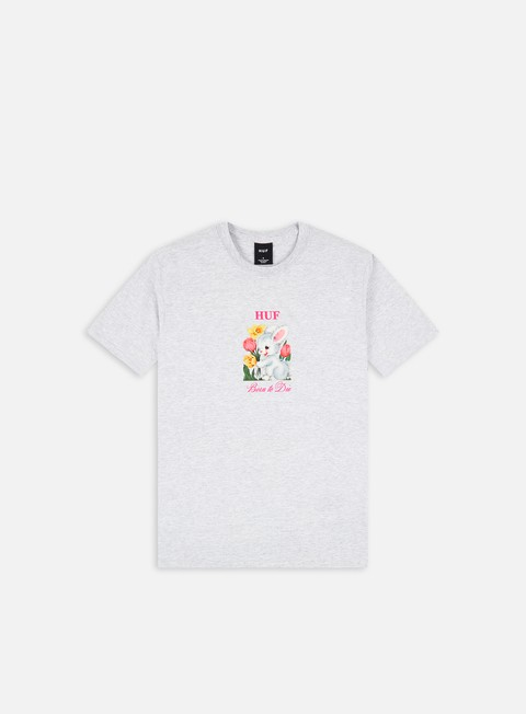 Short Sleeve T-shirts Huf Born To Die T-shirt