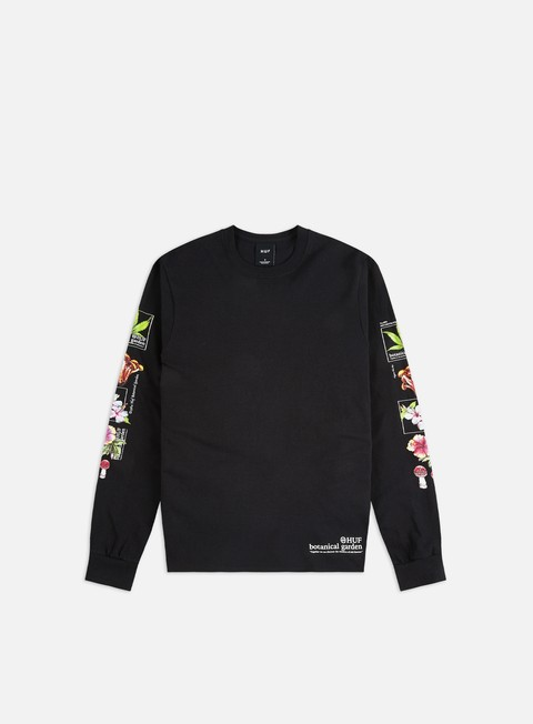 Long Sleeve T-shirts Huf Botanical Garden LS T-shirt