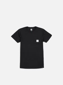 Huf - Box Logo Pocket T-shirt, Black