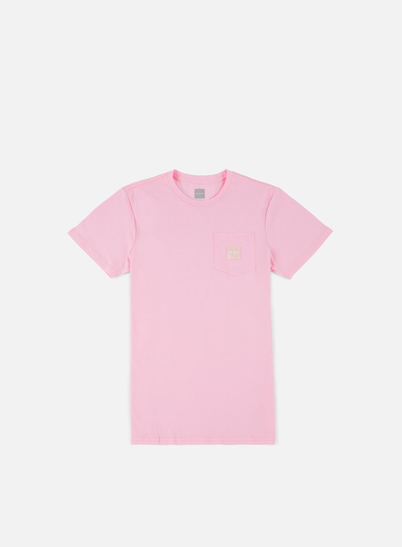 Huf - Box Logo Pocket T-shirt, Pink