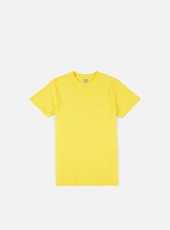 Huf - Box Logo Pocket T-shirt, Yellow