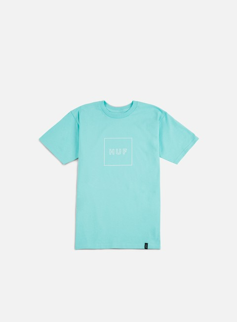 Short Sleeve T-shirts Huf Box Logo Puff T-shirt