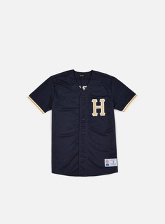 Huf - Bush League Baseball Jersey, Navy 1
