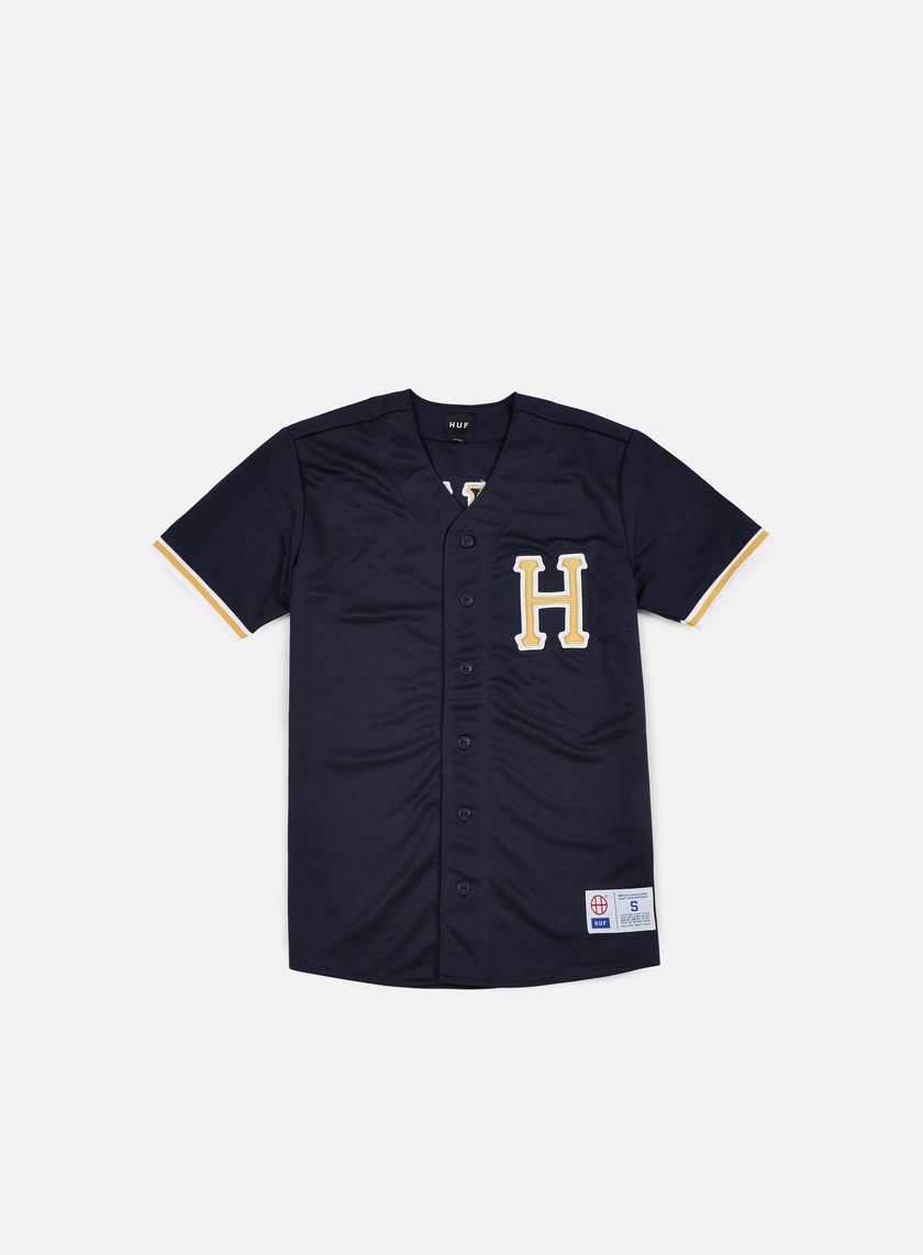 Huf - Bush League Baseball Jersey, Navy