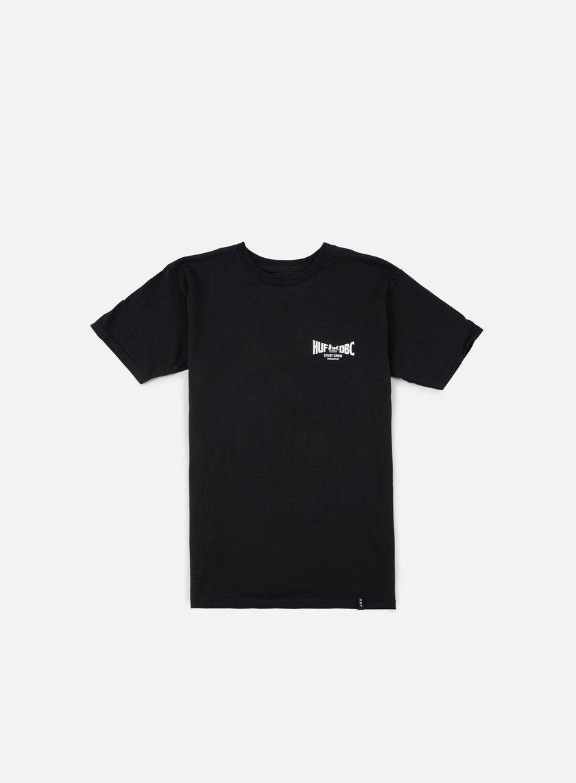 Huf - Chariots T-shirt, Black