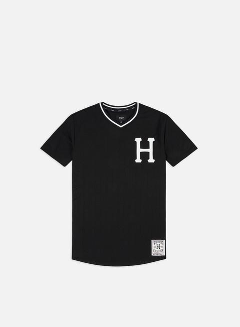 Outlet e Saldi T-shirt a Manica Corta Huf Chavez Baseball Jersey
