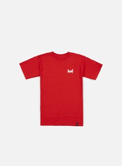 Huf - Chocolate Chunk T-shirt, Red 1