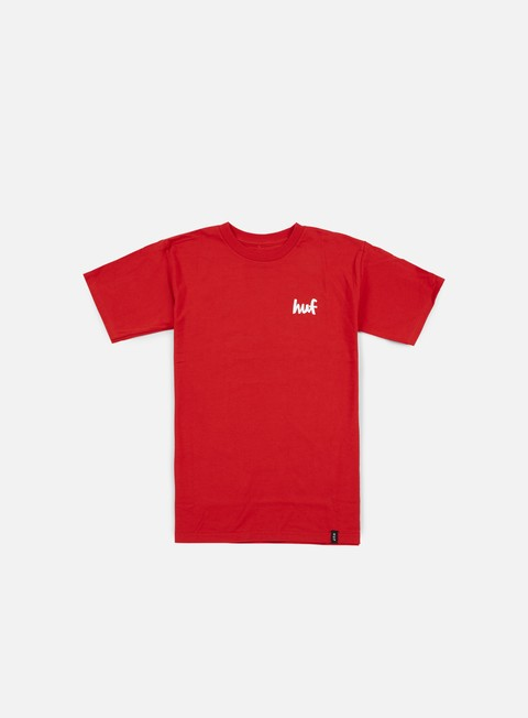 t shirt huf chocolate chunk t shirt red