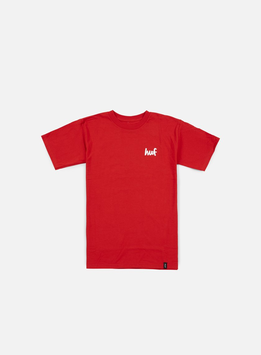 Huf - Chocolate Chunk T-shirt, Red