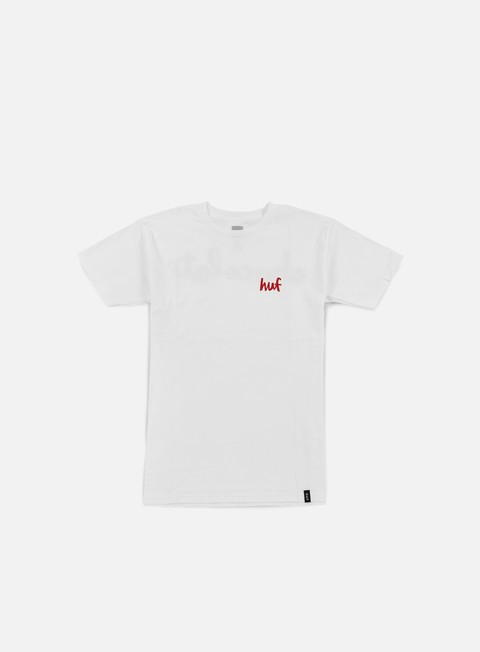 t shirt huf chocolate chunk t shirt white