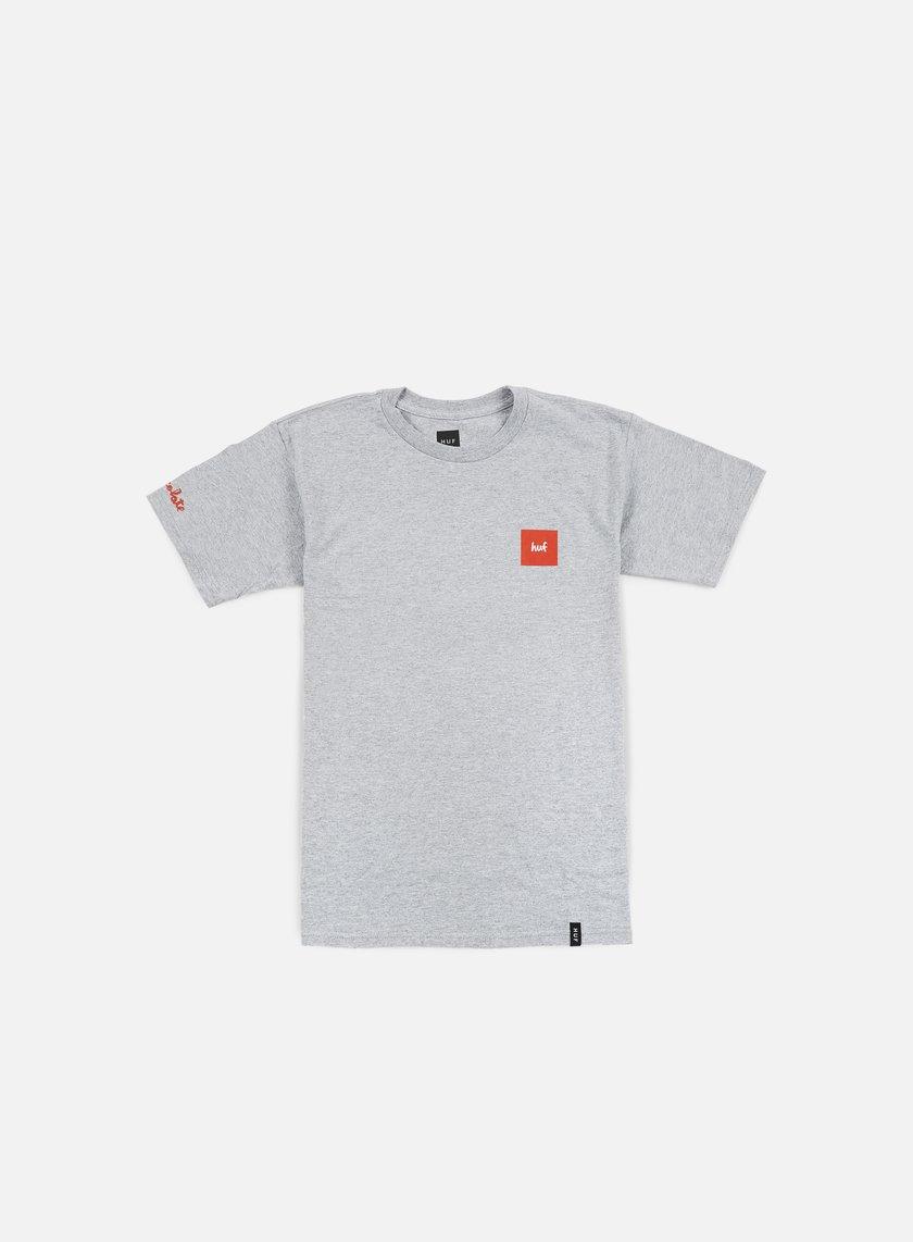 Huf - Chocolate SF Cop Car T-shirt, Grey Heather