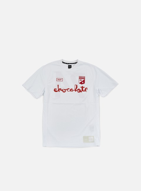t shirt huf chocolate torrance fc soccer jersey white