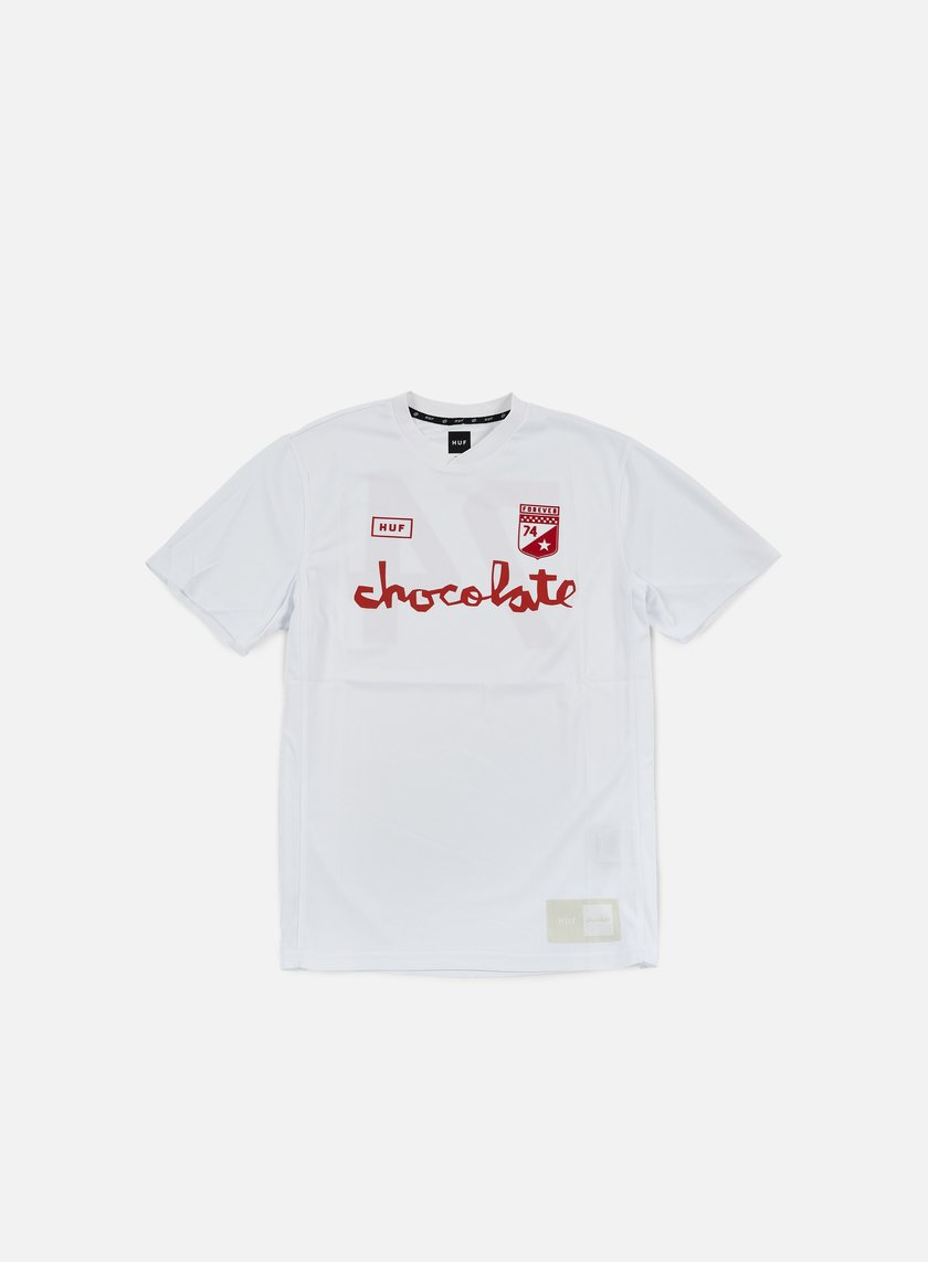 Huf - Chocolate Torrance FC Soccer Jersey, White