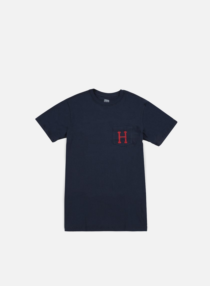 Huf - Classic H Pocket T-shirt, Navy